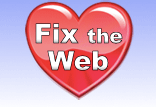 Fix the Web Logo