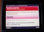 Mobile web display