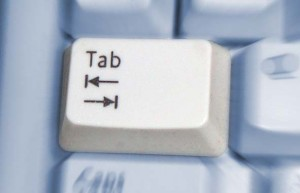 The tab key can get a lot of use with keyboard users