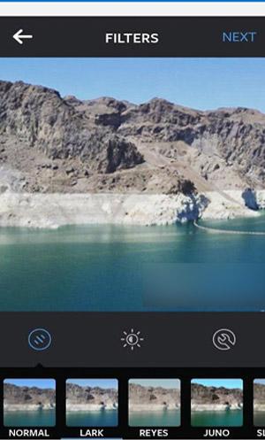 Instagram filters - previous design